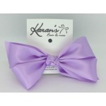 Light Lavender Satin Bow - 4 inch