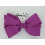 Wild Berry Grosgrain Bow - 6 Inch