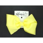 Baby Maize Grosgrain Bow - 6 Inch