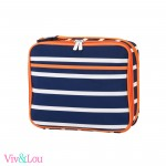 Line Up - Orange/Navy Lunch Box